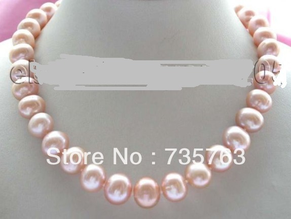 xiuli 00737 18 Genuine Natural pink Pearl Necklace<br><br>Aliexpress