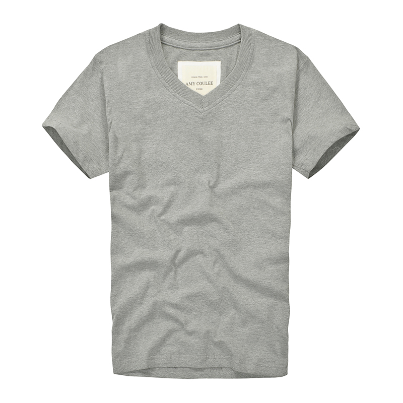 AMY COULEE!! 100% Cotton T shirts Men short Sleeve Brand Design Summer male Tops Tees Fashion Casual Tshirts plus size clothing(China (Mainland))