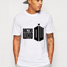 Free Shipping Fashion Doctor Who T Shirts Men Short Sleeve O Neck Man TeeCotton t shirt Tops