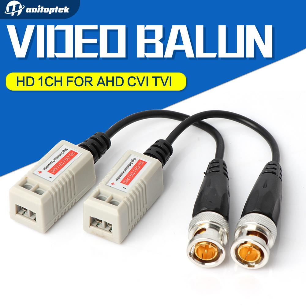 10Pairs Enhanced Video Balun Twisted BNC CCTV Video Balun Passive Transceivers UTP Balun BNC Cat5 Support HDCVI/AHD/TVI Camera(China (Mainland))