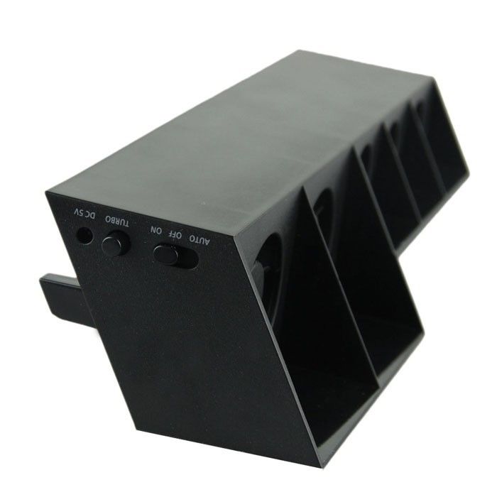 image for Vertical Controller Charger Dock Stand USB Cooling Super Turbo 5 Fan C