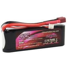 CNHL LI-PO 2200mAh 7.4V 40C(Max 80C) 2S Lipo Battery Pack for RC Hobby free shipping
