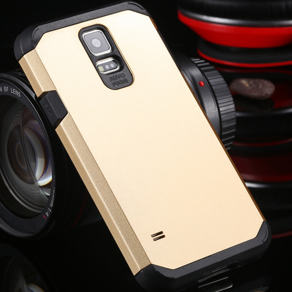 Biggest Discount! With Logo Tough Case For Samsung Galaxy S5 SV i9600 Hard Mobile Phone Cover Bags High Quality SGS03860(China (Mainland))