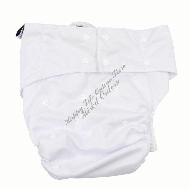 Насыщенный белый пул водонепроницаемый многоразовые взрослых ткань подгузник для ...