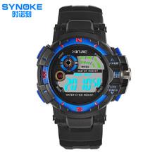 2016 Brand Children Watches Dual Time Multifunctional LED Digital Quartz 30m Waterproof Swim Kids Student Sports Watch Relojes