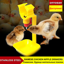 Farm Animal Supplies Feeding Watering Supplies 50pcs Chicken With Automatic Nipple Type Drinking Water Apparatus Chicken Water(China (Mainland))