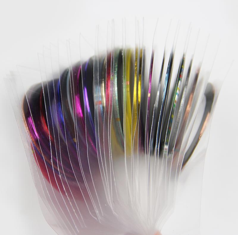 Гаджет  1043-32 Color/set  Nail Art UV Gel Tips Striping Tape Line Sticker DIY Decoration None Красота и здоровье