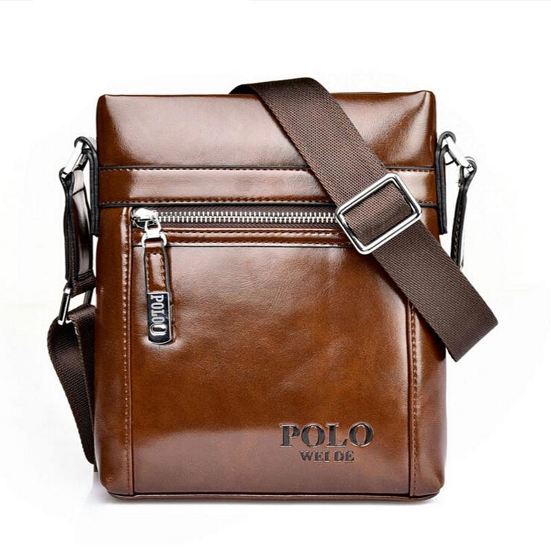 Brand Designer Genuine Leather Men Messenger Cross Body Bags Vintage Zipper Men Briefcase Business Bags <br><br>Aliexpress
