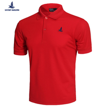 2016 Men's Brand Clothing Solid Polo Shirt Business Casual Sports Jerseys Golf Tennis Breathable High Quality Sleeve Polo Shirt