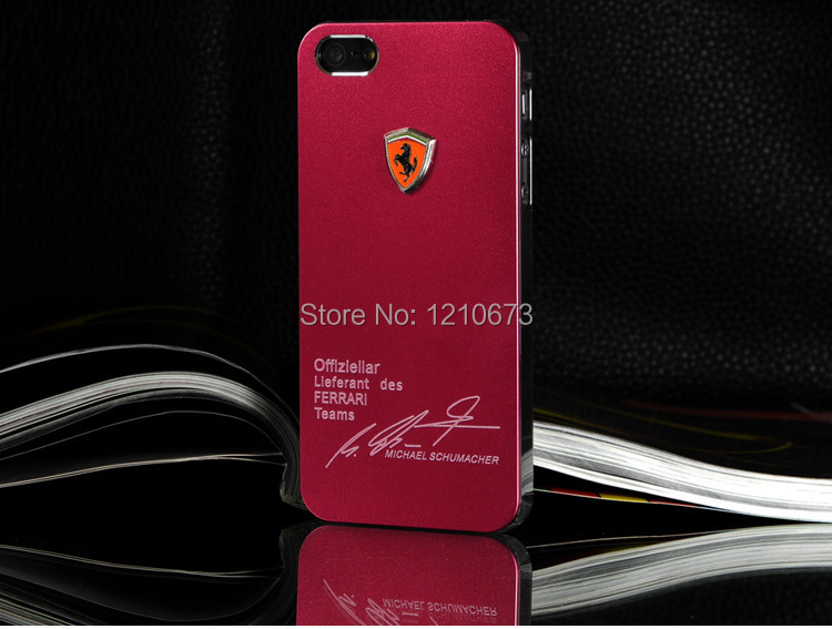Metal Back Shell Case iPhone 4 4S Sport Car Matte Aluminum Phone Cover Cases iPhone4 Luxury Texture - HK SEG TRADING CO., LIMITED store