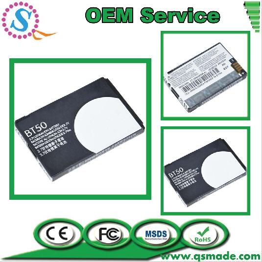 Original Capacity 850mAh Lithium AKKU For Motorola BT50 SNN5766A Batterji Mobile Phone Battery Factory OEM Free Shipping(China (Mainland))