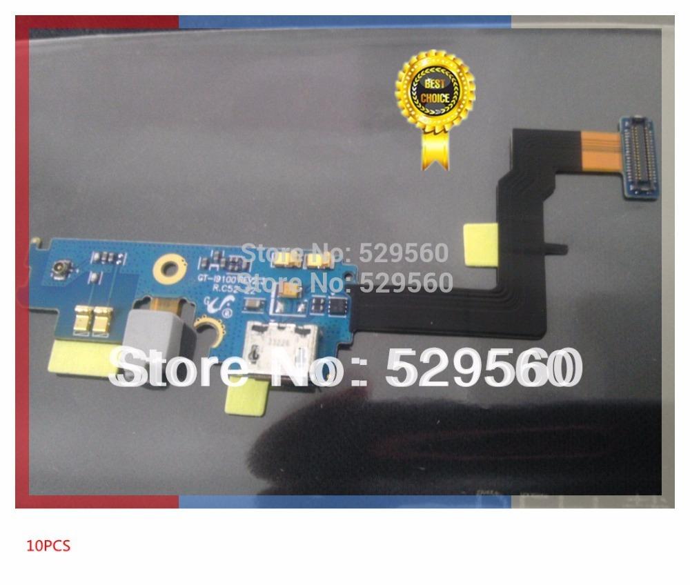 Новые оригинальные зарядки зарядка от USB-порта стыковки Flex ленточный кабель для SamsungGalaxy S2 и i9100 модель D  10шт