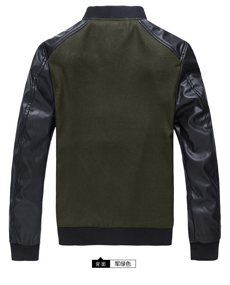 Men s jacket casual jacket fall and winter clothes men Slim Collar Jacket men s coat