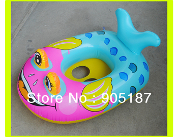 Free shipping resale PVC inflatable baby swimmming float for little baby swim in pool with a pump