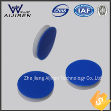 Free shipping blue PTFE/white silicone septa for 8-245,1.5ML hplc vials(China (Mainland))