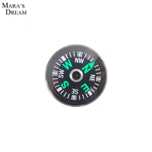 Pocket Survival Liquid Filled Button Design Compass Derection for Climbing Hiking Camping Outdoor 20MM(China (Mainland))