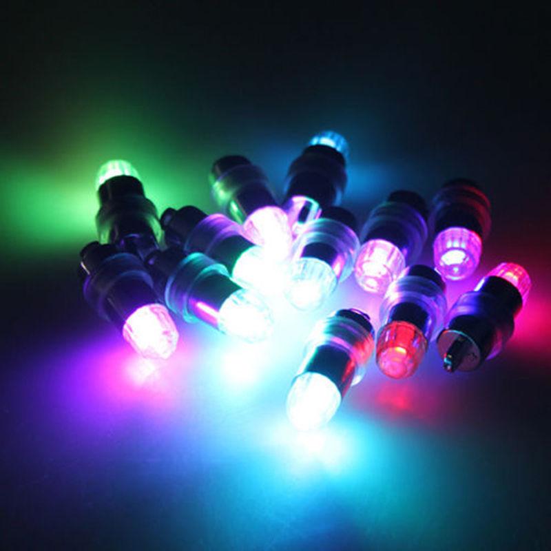 New pcs lot mini rgb led party balloons lights