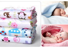 Free Shipping Coral Fleece Baby Blanket Super Soft Factory Sales baby product swaddleatrq0001(China (Mainland))