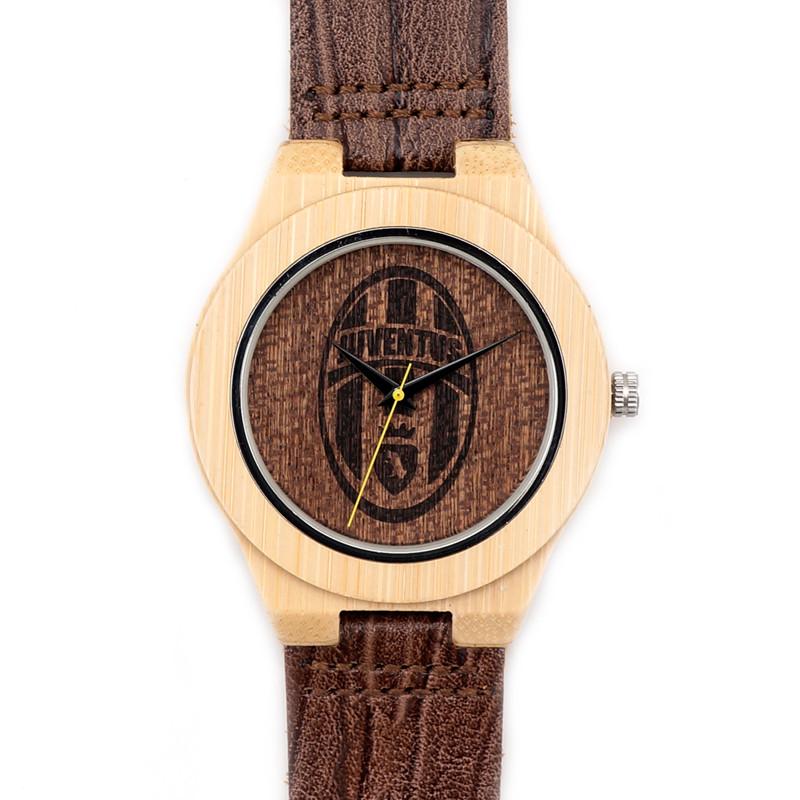 BOBOBIRD Мужская Ретро Кожа Мода Бамбуковые Деревянные Япония Кварцевый Механизм С Подлинной Коровьей Кожаный Ремешок Повседневная Часы E15