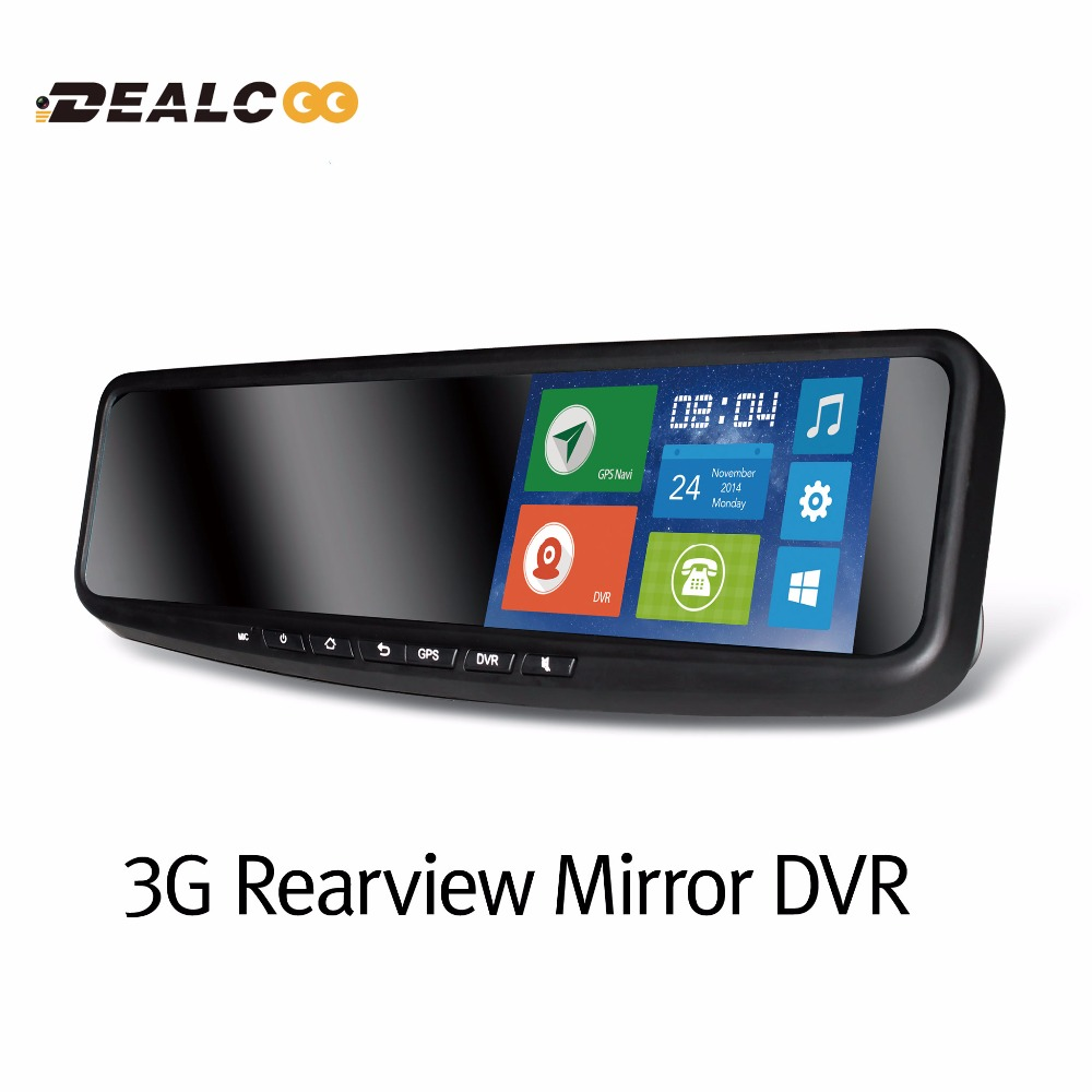 "5"" HD1080P Android 4.4/4.2 Car Rear View Rearview mirror GPS DVR Navigation Tracker 3G WIFI USB GSM WCDMA Bluetooth Handsfree(China (Mainland))"