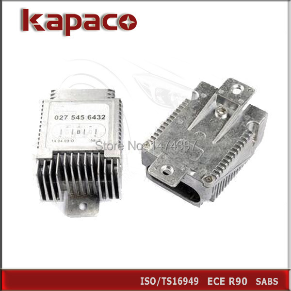 Cooling Fan Control Module For Mercedes Benz W220 S500
