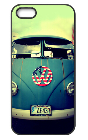 Volkswagen VW Van Bus Cover Case for iPhone 4S 5 5S 5C 6 6S Touc Plus Samsung Galaxy S3 S4 S5 Mini S6 Edge A3 A5 A7 Note 2 3 4 5(China (Mainland))
