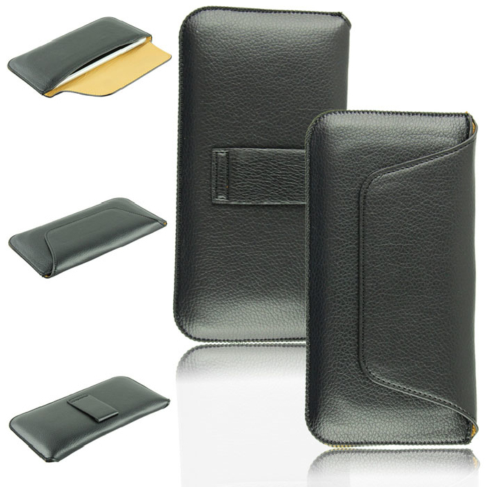 Attractive New Soft Leather Magnetic Flap Case Pouch with Belt Clip for Apple iPhone 6 6G 4.7'',Free shipping June 16(China (Mainland))