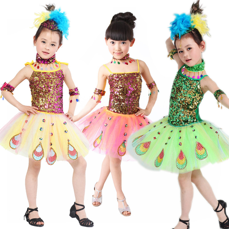 Latin Dance Dress Children