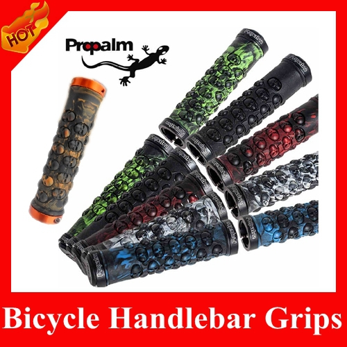 HOT selling Upgrade 2015 Aluminum Alloy bilateral Lockable TPR rubber bmx grips, Bicycle Handlebar Grips, Bar Ends Parts - HiCoo Global Trade Co., Ltd store