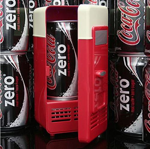 Mini USB PC Fridge Freezer Refrigerator Beverage Drink Cans Warmer Cooler System(China (Mainland))