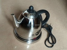 zhengmao ZM-108E fast electric kettle, stainless steel electric tea pot 220V 1000W 0.8L(China (Mainland))