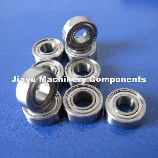 Free Shipping 10 PCS S695ZZ Bearings 5x13x4 mm Stainless Steel Ball Bearings DDR-1350ZZ(China (Mainland))