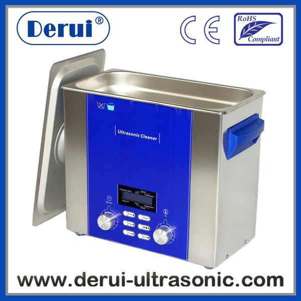 Ultrasonic jewelry cleaner with Multi-function DR-P40 4L stainless steel Brand Derui(China (Mainland))