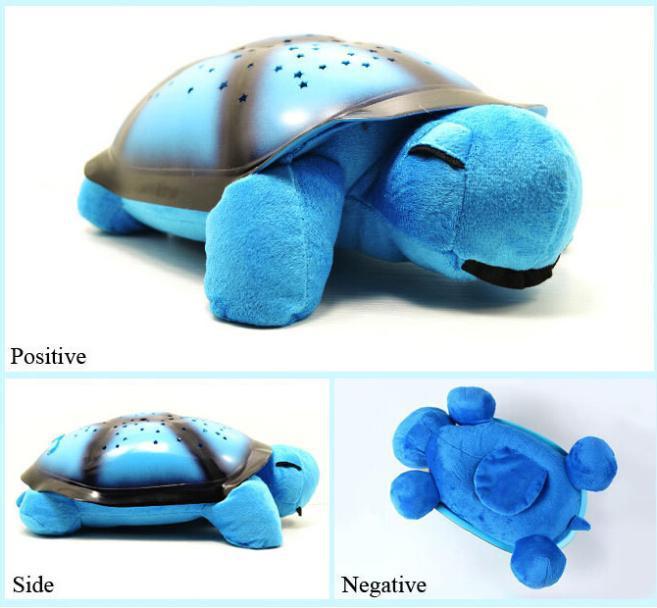 Sky Projection Lamp Children Toys Music Turtle Light Night Sleep Aid Light Stars Night Turtle Lamp(China (Mainland))
