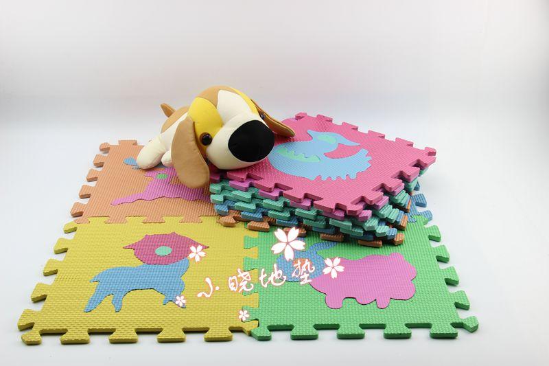 Animal puzzle mats baby crawling pad foam puzzle floor mat eva mats foam puzzle mats(China (Mainland))