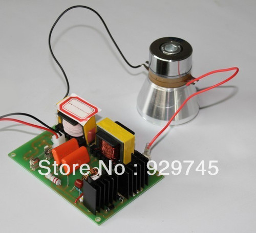 5pcs 40KHz 50W Watt Ultrasonic Cleane Transducer & Power Drive Module 220V(China (Mainland))