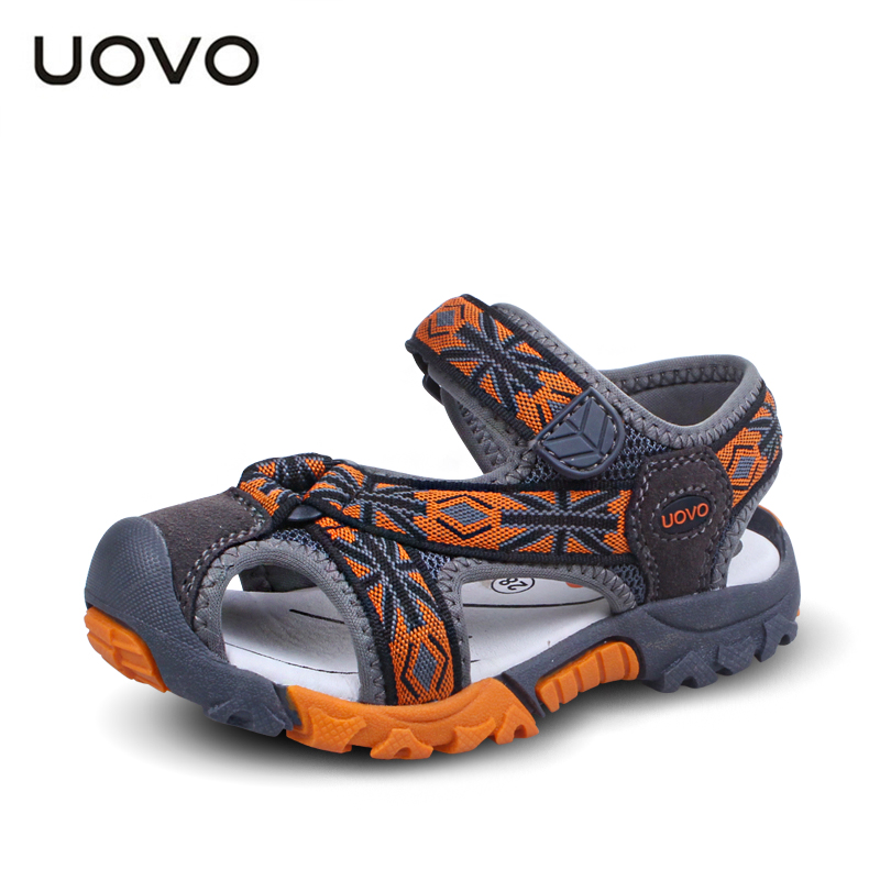 New Boys Sandals Leather Sandals Children Summer Soft Sole Beach Sandals Mini Melissa Shoes Size 24-35 Boys Sandals Z13(China (Mainland))