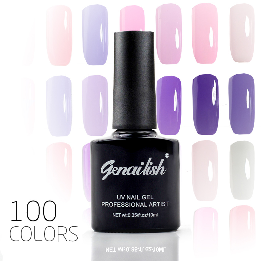 100 Colors Gel Nail Polish UV Gel Polish Long lasting Soak off LED UV Gel Color