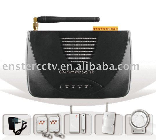 home alarm system,Home Security Alarm system with SMS & Auto-dial alerting functions(China (Mainland))
