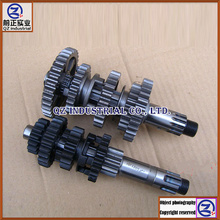 New and original for GXT200 QM200GY main countershaft gear shaft kit GXT200 QM200GY transmission kit(China (Mainland))