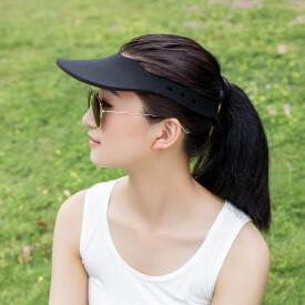 Горячая распродажа пляж крышка Sunbonnet козырек Strawhat женский спортивный теннисные бейсболка лето стиль солнцезащитный крем складной большой магия шляпа солнца