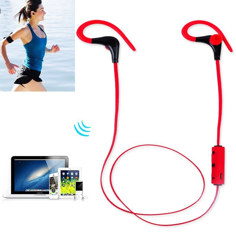 universal sports bluetooth 4 0 earphones stereo waterproof. Black Bedroom Furniture Sets. Home Design Ideas