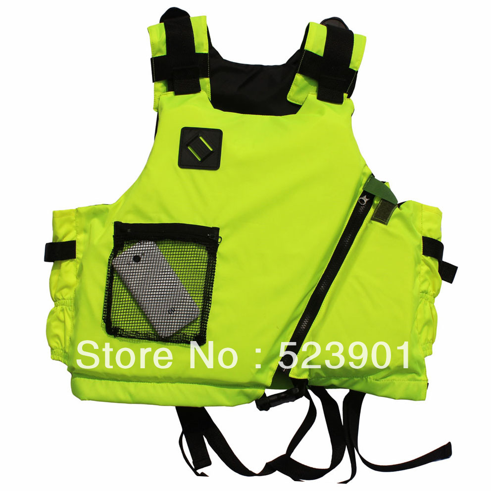 Snorkel lovers Outdoor Professional Swimwear Upstream Adventure Fishing Life Jacket Water Sport Survival Dedicated Life Vest(China (Mainland))