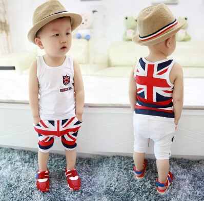2015 carters baby clothing sets Baby Boys Clothing Sets bebe summer style t-shirts + shorts - Mommy Love store