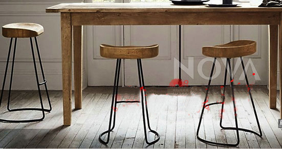 wooden bar stools Picture - More Detailed Picture about Top,The village of re...