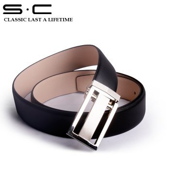 S.C Free Shipping wholesale+ genuine Cow leather waist belt for men +  2011 fashion designer leathetr belt PY0029-3-HXY