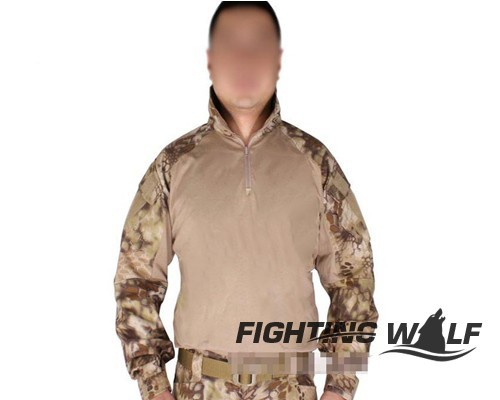2015 Fashionable Emerson Airsoft Combat Tactical Long Military Camouflage Casual Sports Emerson V3 Tactical Long Sleeve T-shirt