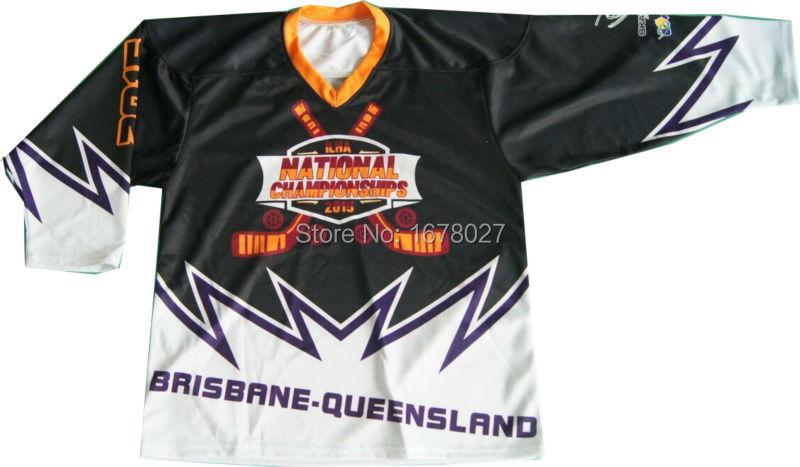 Australia Roller Hockey Shirts With Impressive Team Design Free DHL Shipping(China (Mainland))
