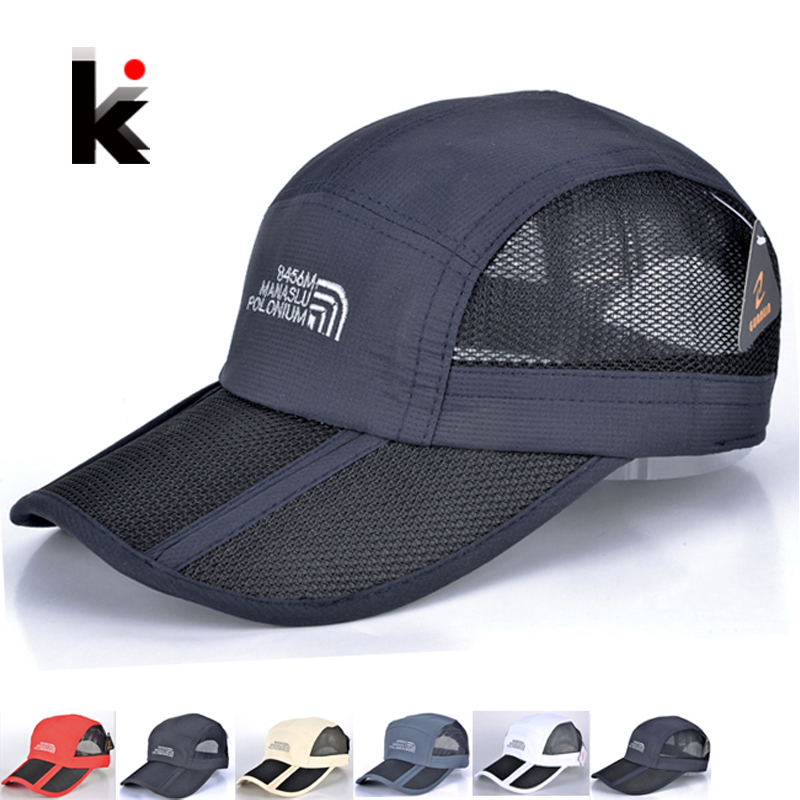 5 colors baseball cap men and women sports caps folding hats Casual men Sun Hat Outdoor Sports Mountaineering hat casquette Одежда и ак�е��уары<br><br><br>Aliexpress