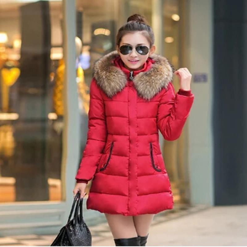 Здесь можно купить  Hot Sale! 2015 New Winter coat Women duck down jacket Fashion Round Collar Slim Thickening Warm jacket women & Parkas J071  Одежда и аксессуары